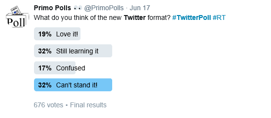 Twitter Poll Example Techpixies