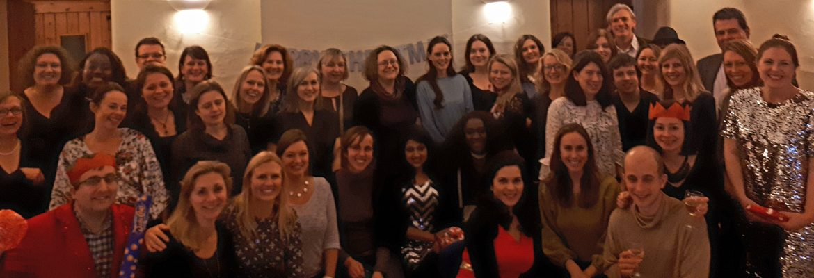 A very sparkly TechPixies Christmas dinner raises £600 for The Nasio Trust (Kenya) and Let's Share (India)