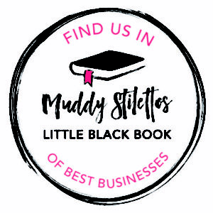 Find us in the Muddy Stilettos Little Black Book of best businesses