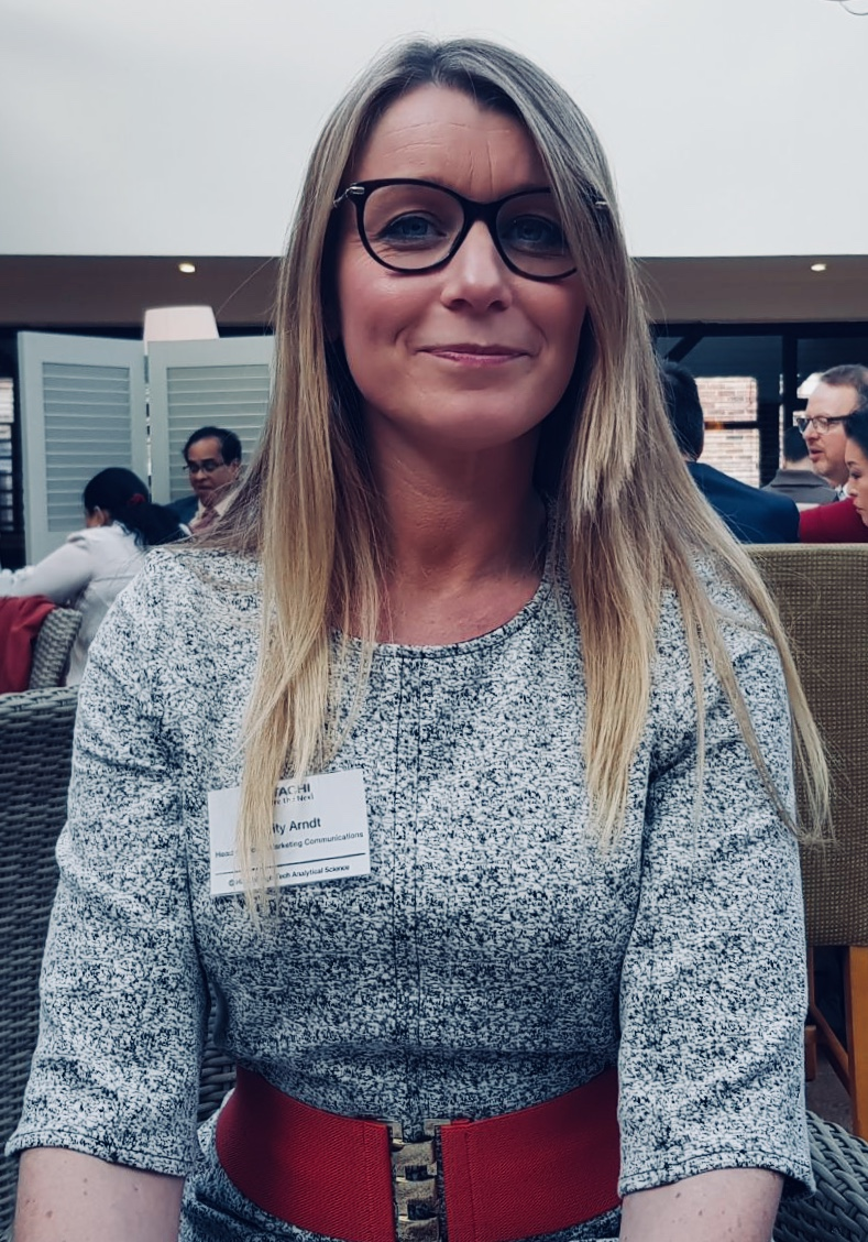 Where are they now? Verity Arndt – Head of Global Marketing Communications, Hitachi High-Tech Analytical Science